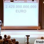 €2.590 Milliarden, für die WIR alle haften! Aufkaufprogramm der EZB (Video)