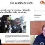 Die russische Sicht #18: Massenfestnahmen in Moskau