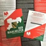 """Vereinigung der Freien Medien präsentiert """"Wahlhelfer"""" für Sachsen – bereits 200.000 Stück in Umlauf!"""