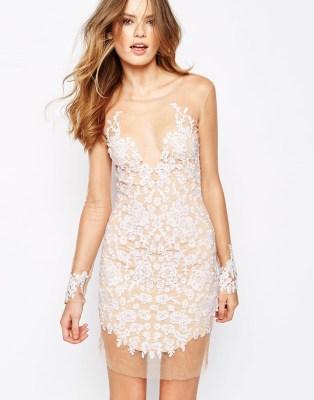 For Love and Lemons Luau Dress White