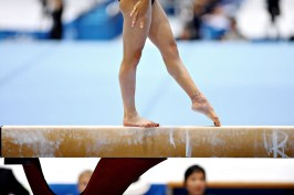 Athlete Gymnast-balance-beam