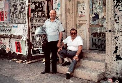 Robert Herman The Clash, New York, NY, 1981.