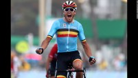 Olympic Athletes Greg Van Avermaet of Belgium
