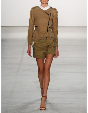 Marissa Webb Marie LAce Up Shorts $398 IfChic runway