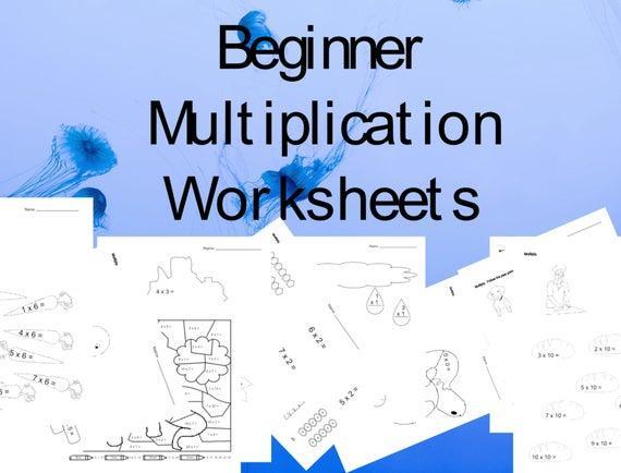 Beginner Multiplication Worksheets For Grade 2