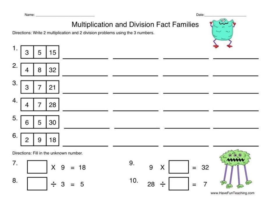 Multiplication Worksheets 0-12 Printable