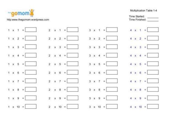 Multiplication Worksheets 2nd Grade Pdf