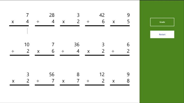 Multiplication Worksheets 6th Grade Printable