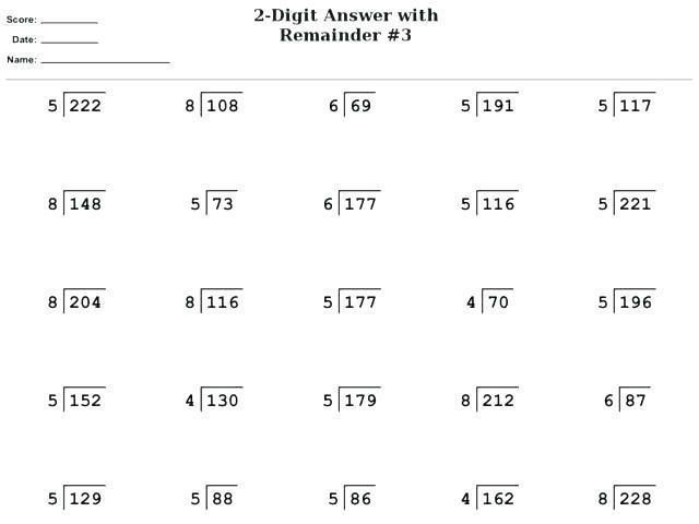 Multiplication Worksheets Grade 5 Free Printable