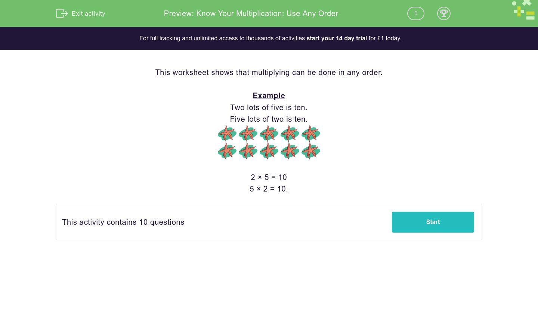 Multiplication Worksheets In Excel