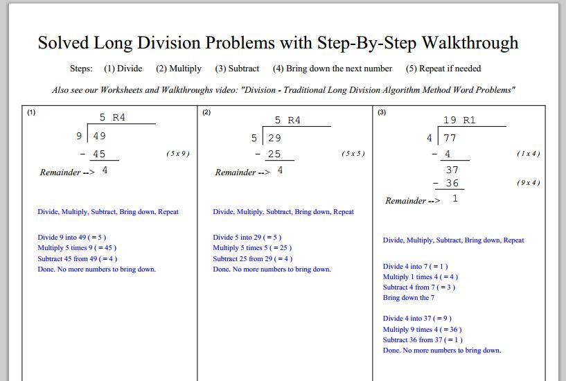 Multiplication Worksheets Key Stage 2
