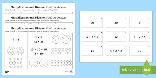 Multiplication Worksheets Without Answers