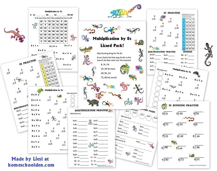 Beginning Multiplication Worksheets With Pictures