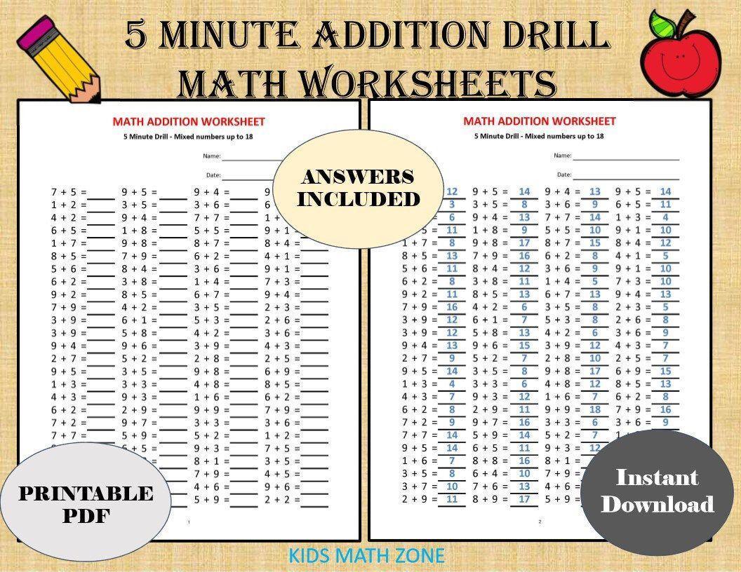 Kumon Math Multiplication Worksheets