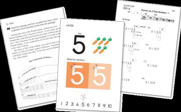 Kumon Multiplication Worksheets Free