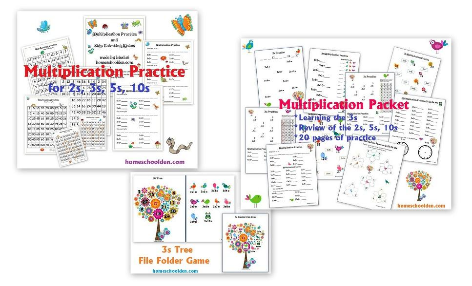 Learning Multiplication Worksheets With Pictures
