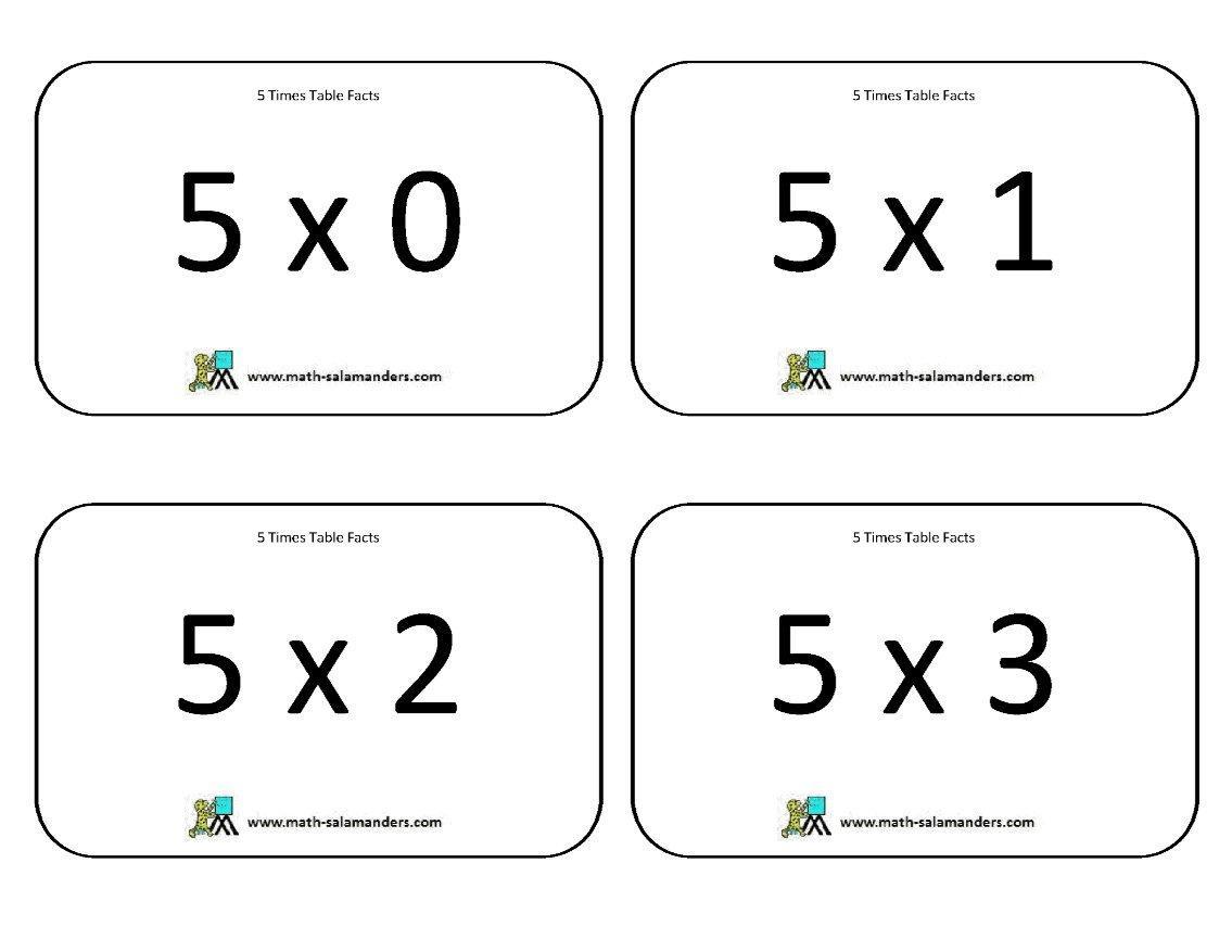 Math Salamanders Com Multiplication Worksheets