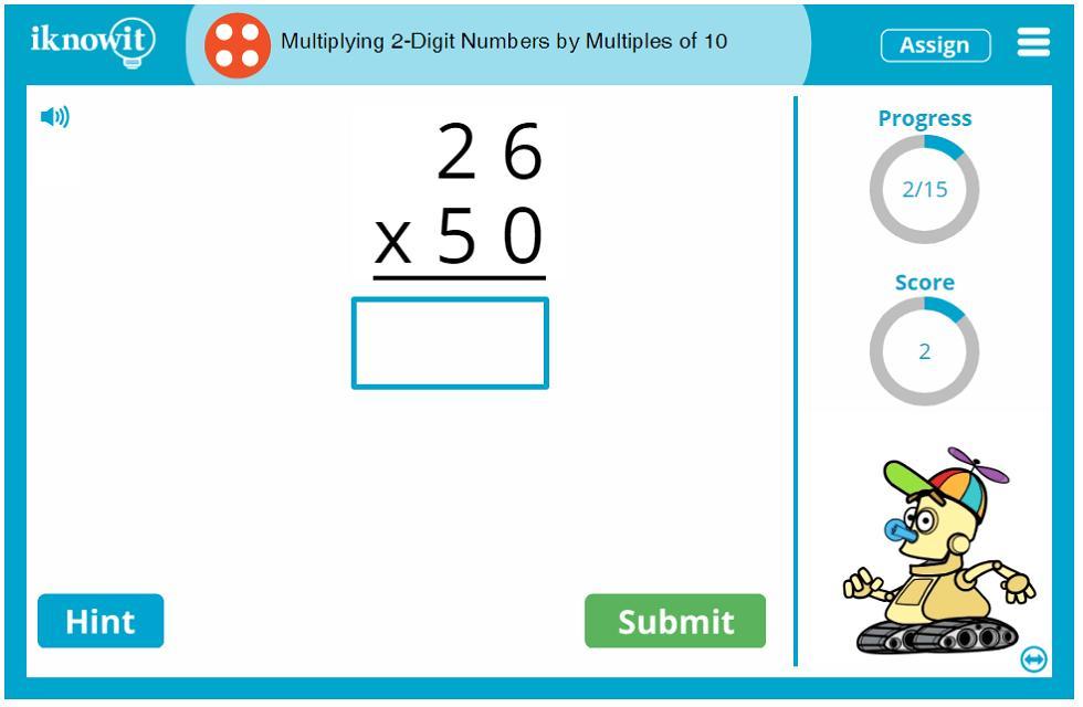 Math Worksheets Multiplication 2 Digits