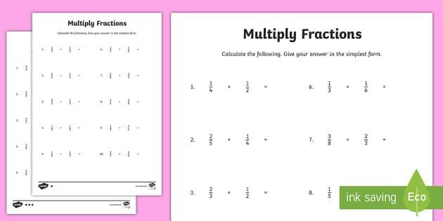 Multiplication Lesson Ks2