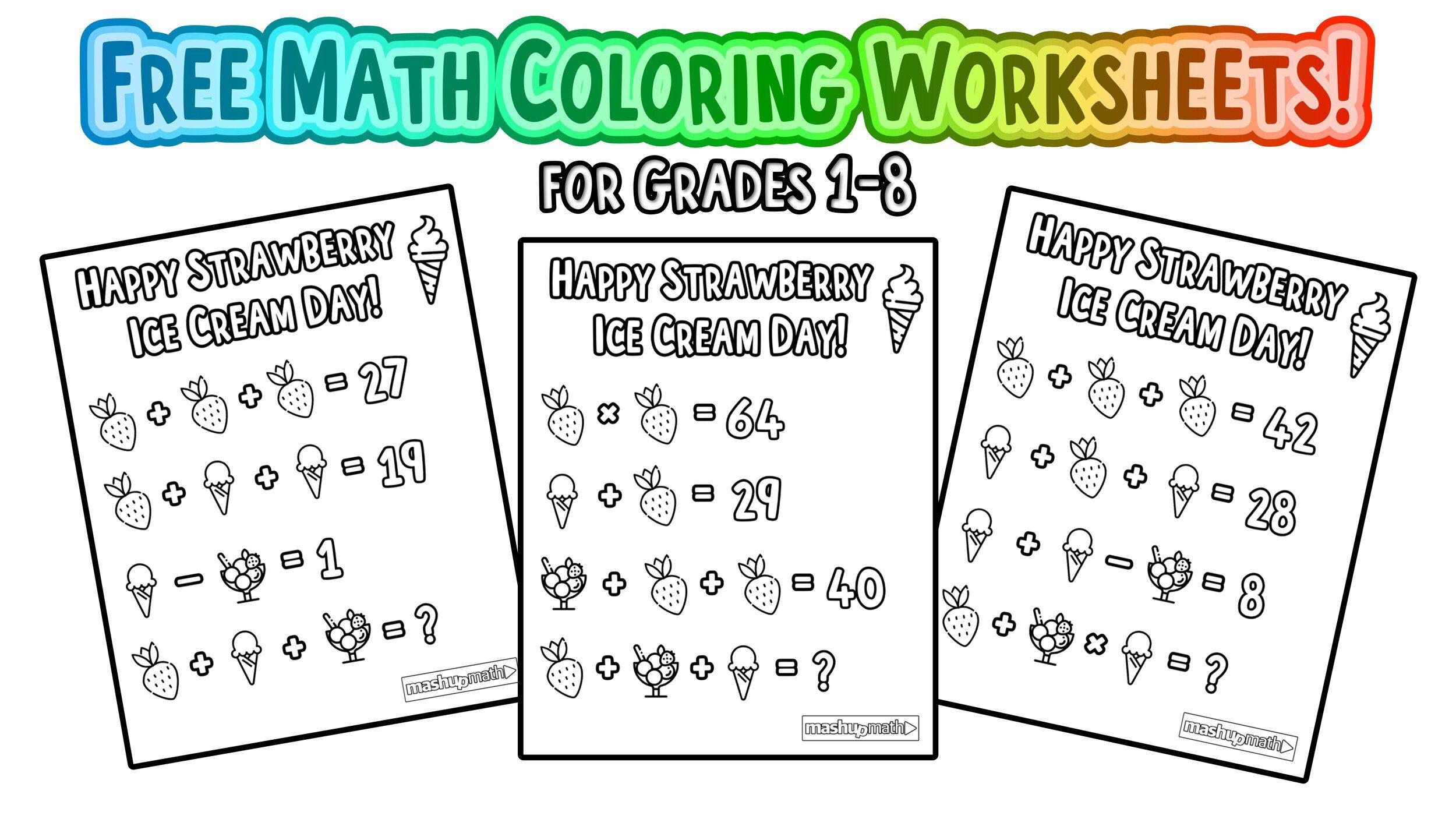 Multiplication Riddle Worksheets 3