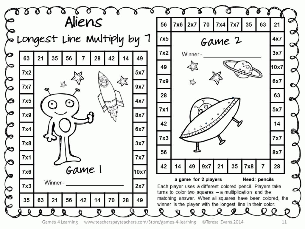 Multiplication Worksheets Ks3 1
