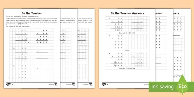 Multiplication Word Problems Year 6 Worksheets