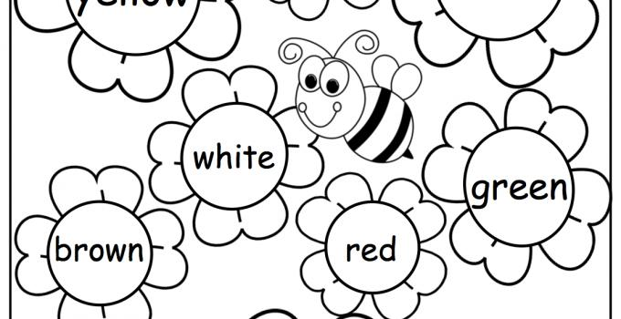 Preschool English Worksheets For 5 Year Olds