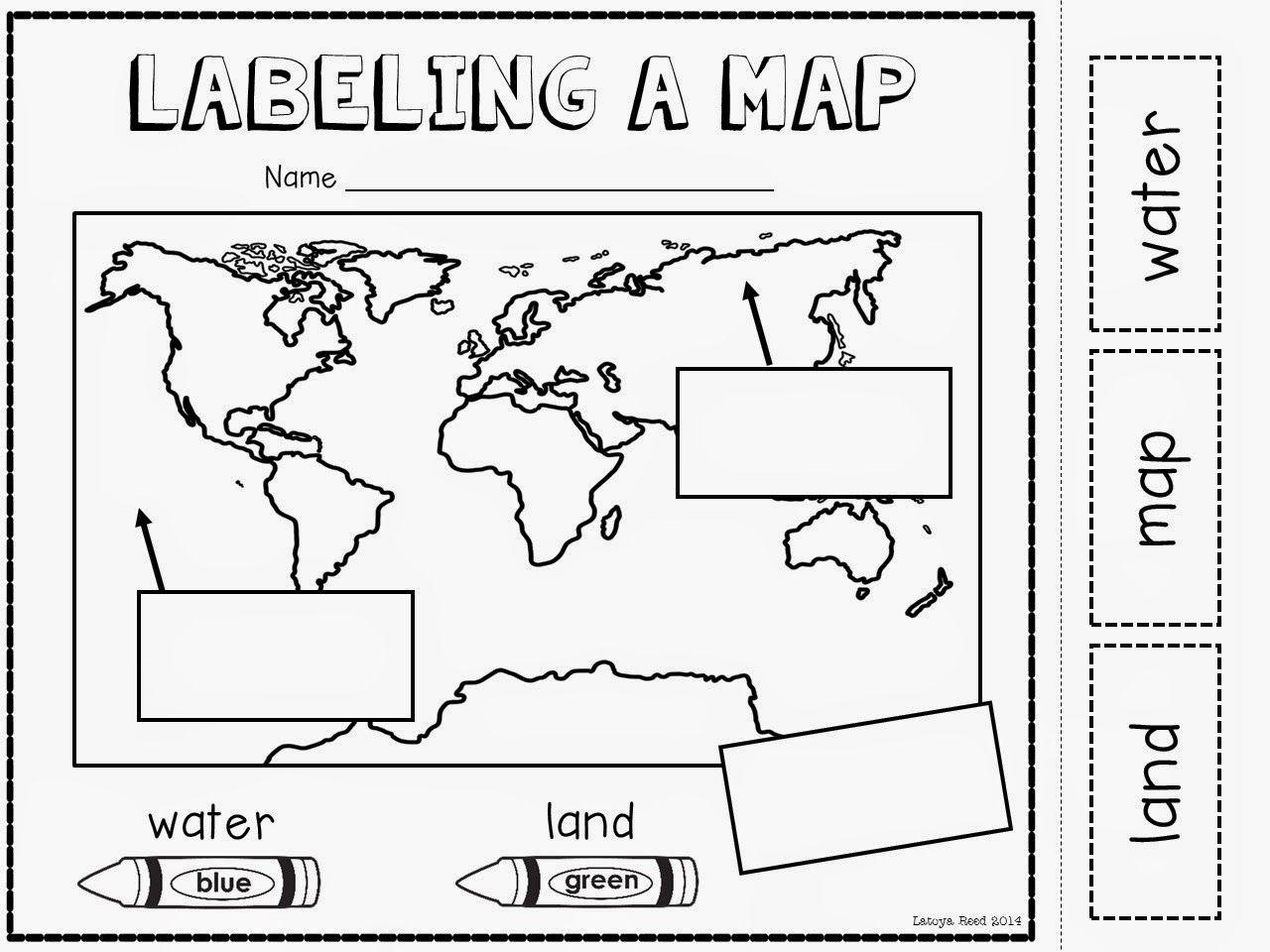Geography Worksheets For Preschool