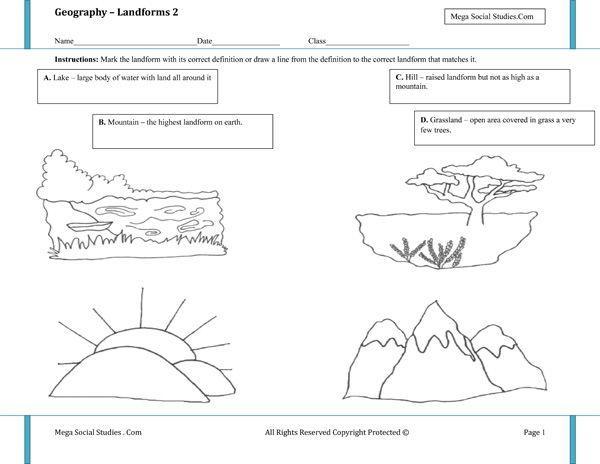 Preschool Geography Worksheets 6