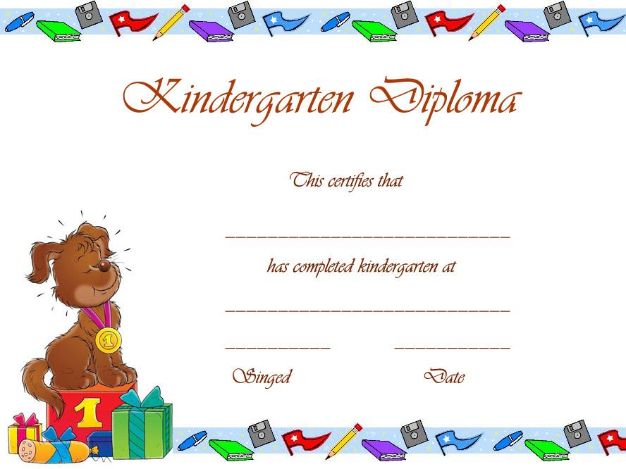 Preschool Graduation Worksheets 3