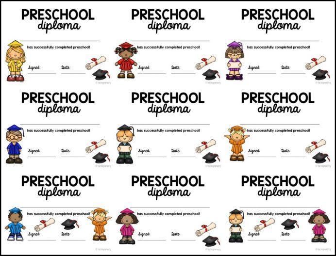 Preschool Graduation Worksheets 7