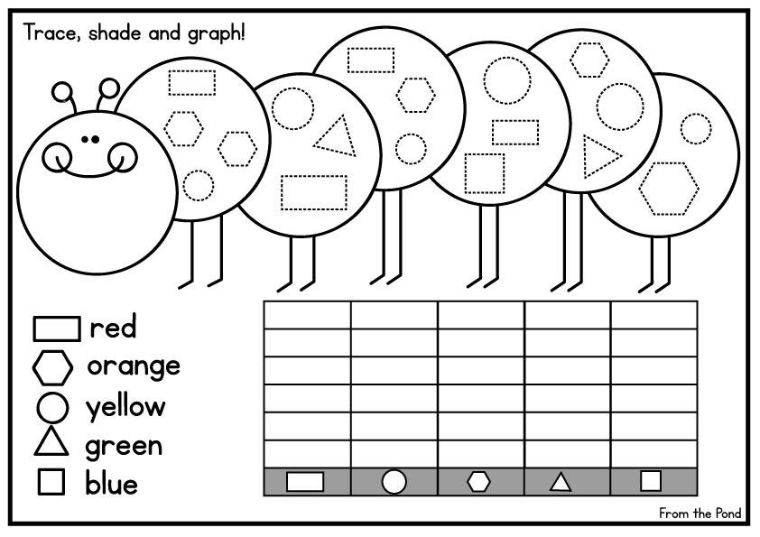 Preschool Graphing Worksheets 1