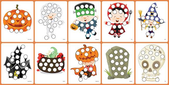 Preschool Halloween Worksheets Free