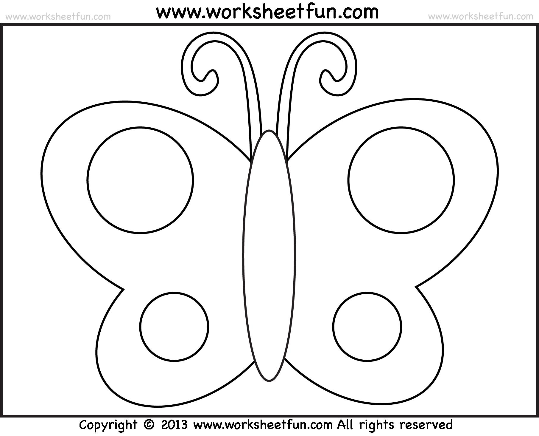 Preschool Worksheets Age 4 Uk