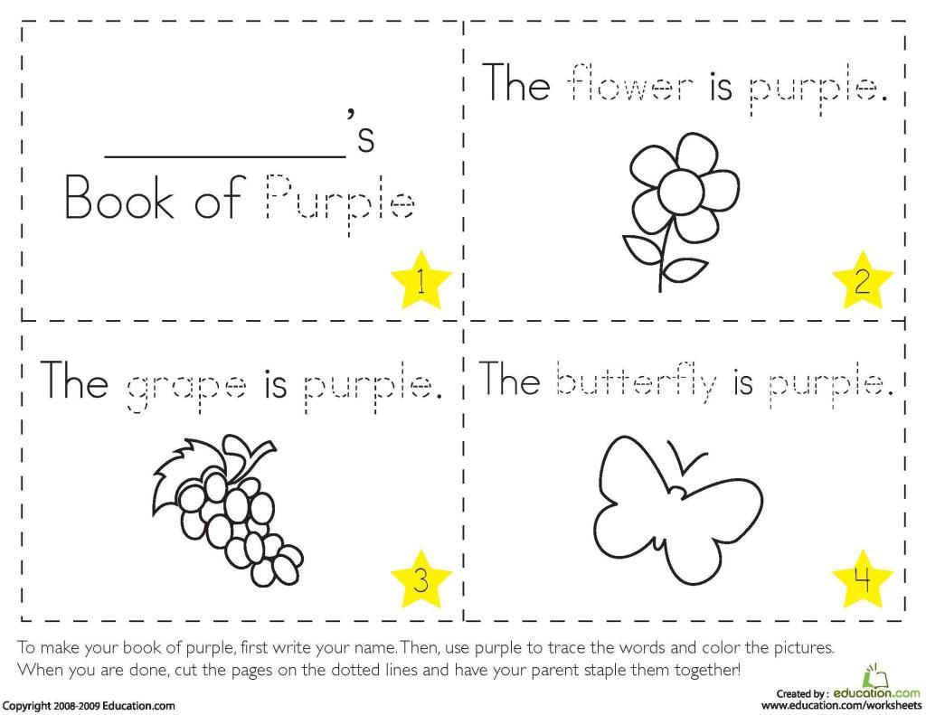 Preschool Worksheets Colors And Shapes