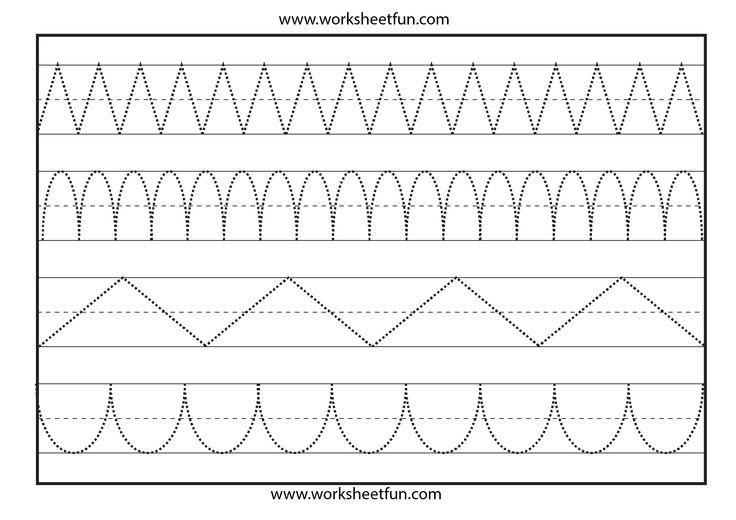 Preschool Worksheets Draw A Line 2