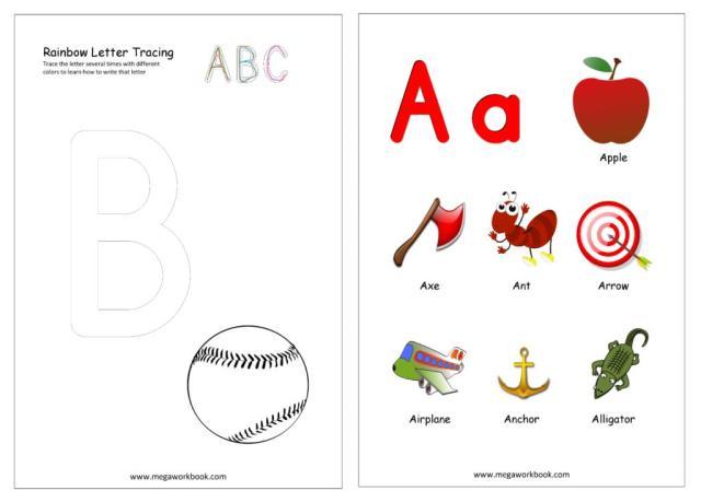 Preschool Worksheets India