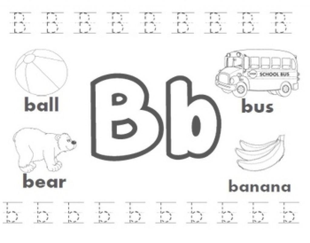 Free Preschool Printables Letter B