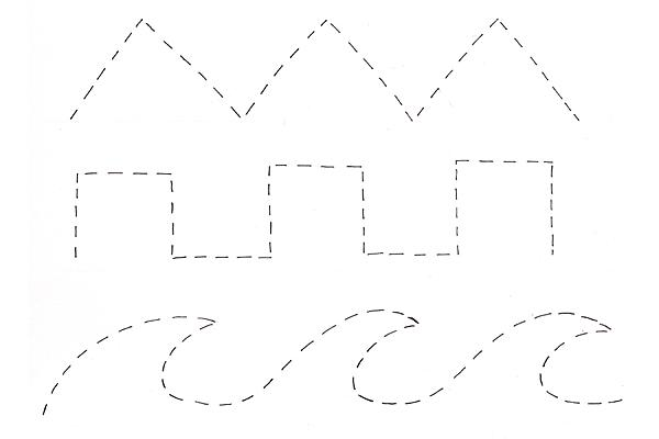 Preschool Worksheets Lines Tracing