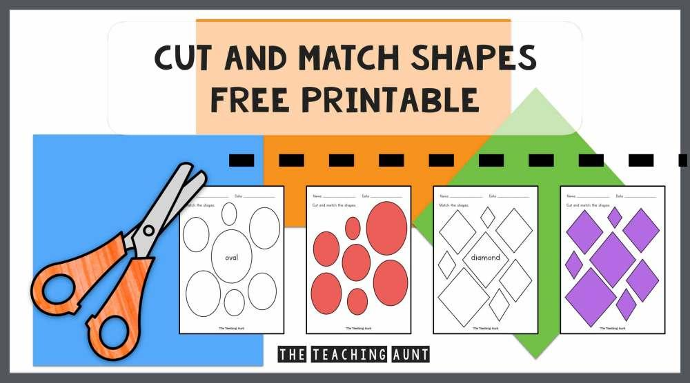 Preschool Worksheets Matching Objects 6