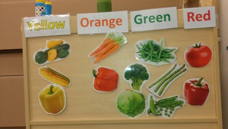 Preschool Worksheets On Fruits And Vegetables 5