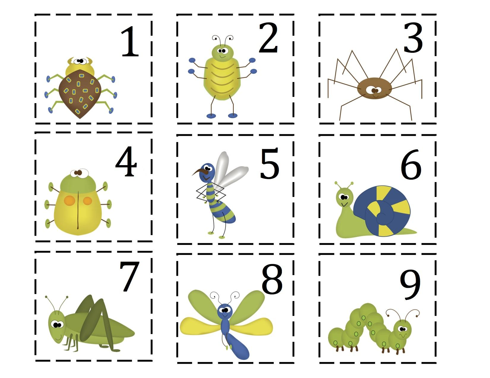 Preschool Worksheets On Insects 1