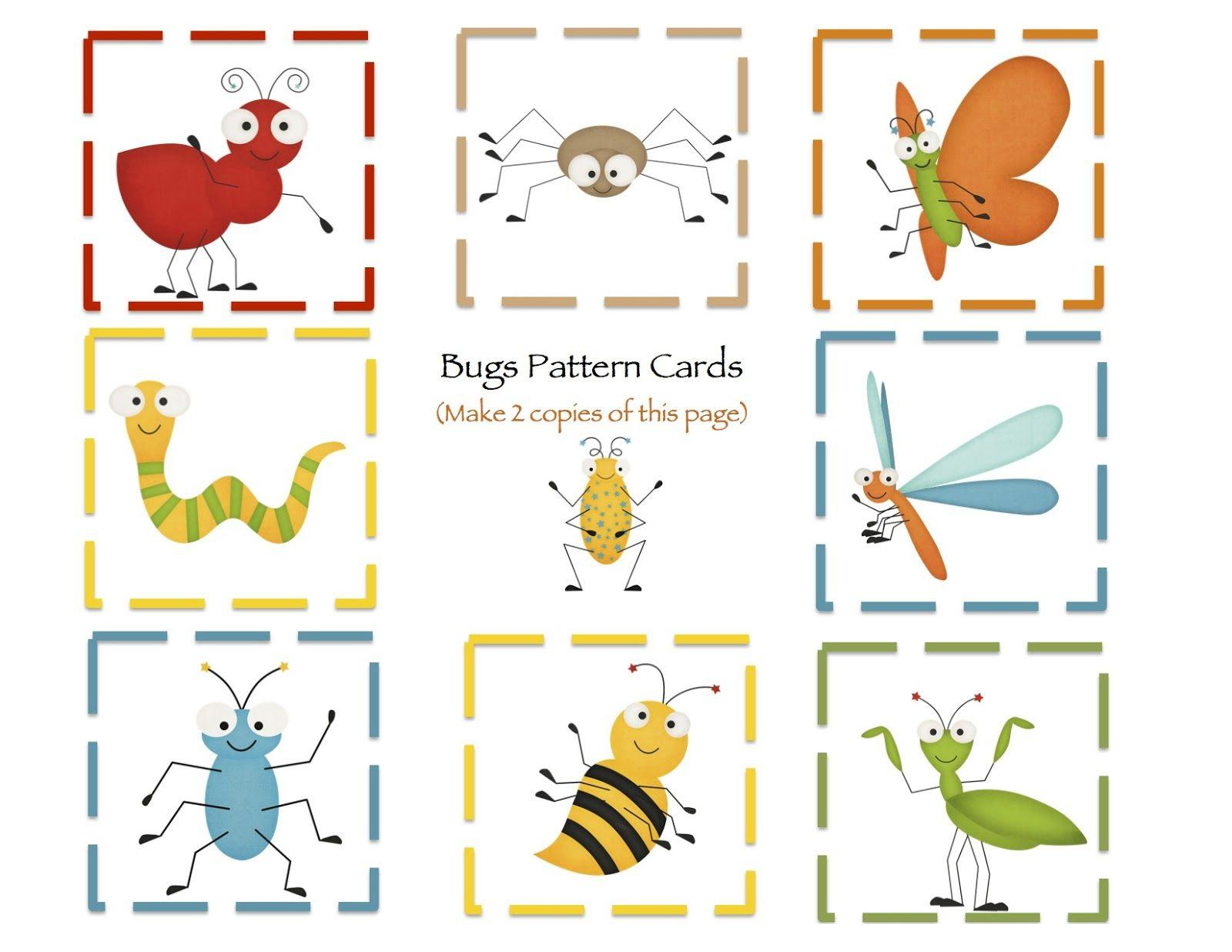 Worksheet On Insects For Preschool