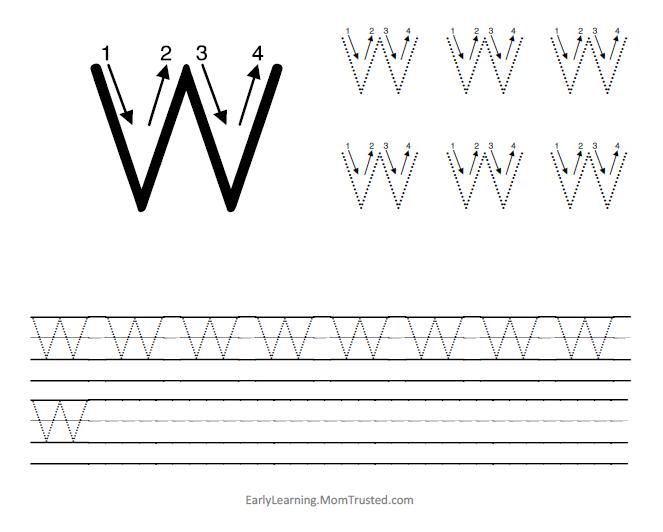 Free Preschool Letter V Worksheets