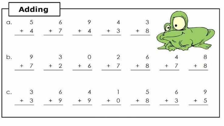 Math Worksheets Addition 7