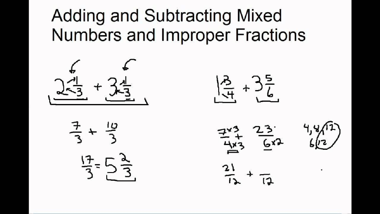 Math Worksheets Addition And Subtraction 7