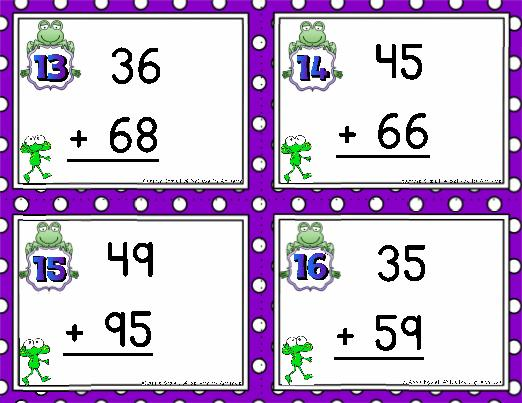 Math Worksheets Addition With Regrouping 7