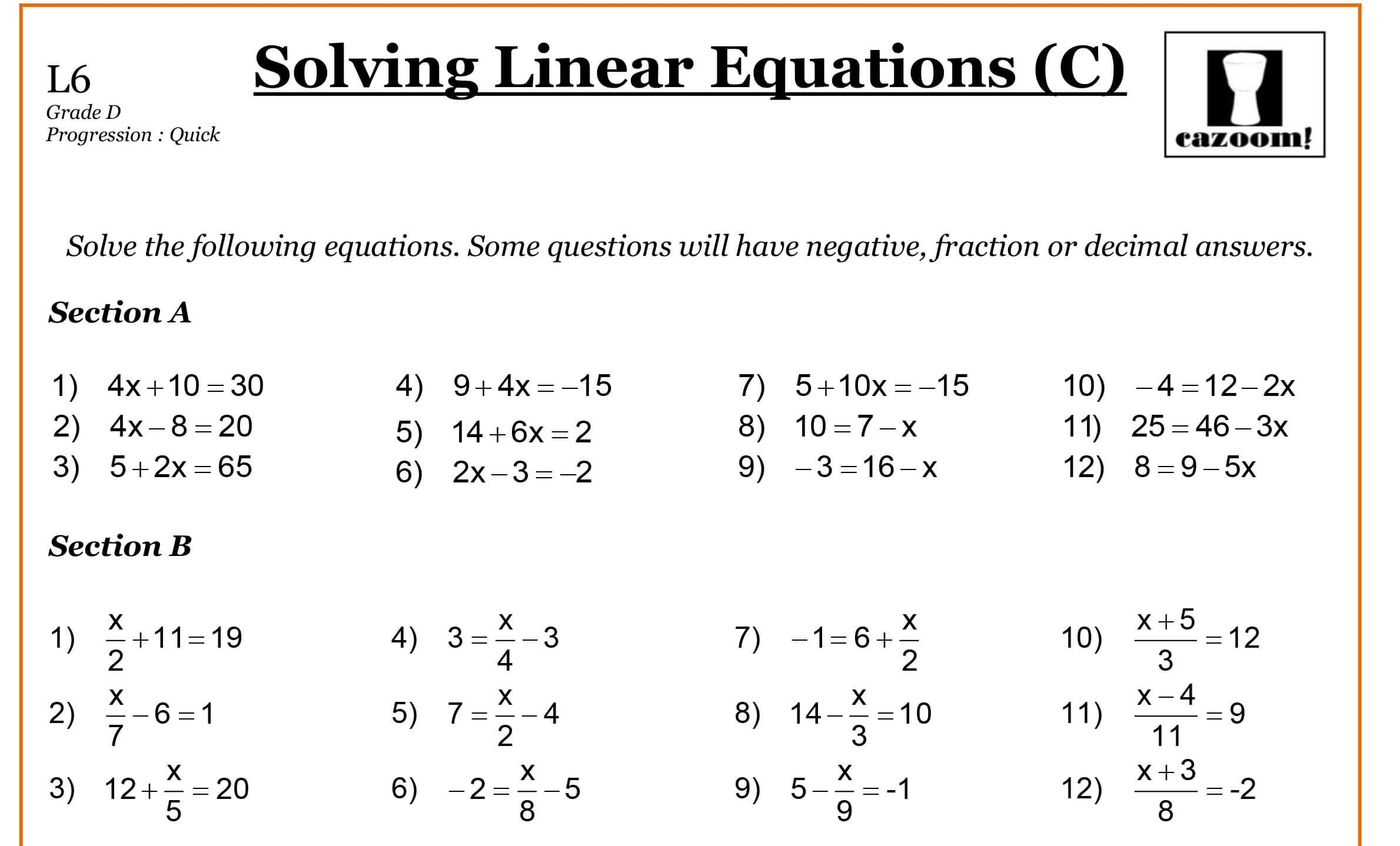 Math Worksheets By Grade Level 1