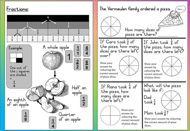 Math Worksheets For Grade 3 9