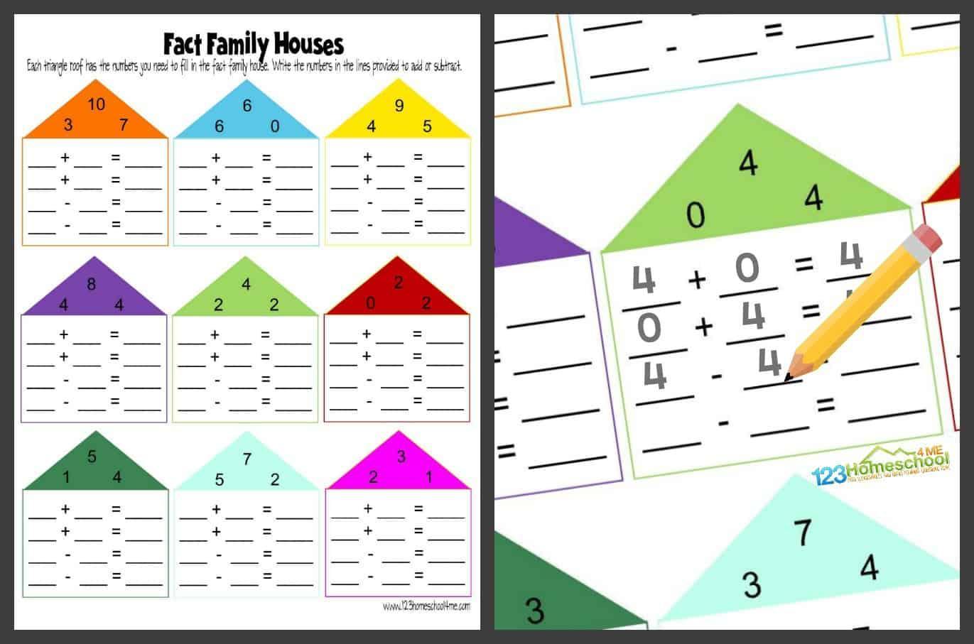 Math Worksheets For Kindergarten 3